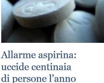 aspirina uccide