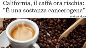 caffè cancro