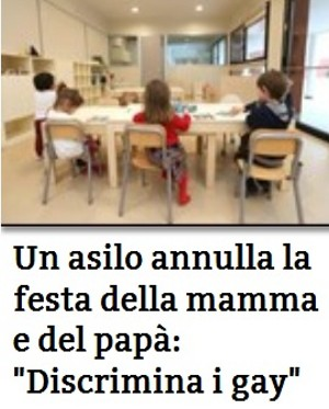 asilo Roma festa papà