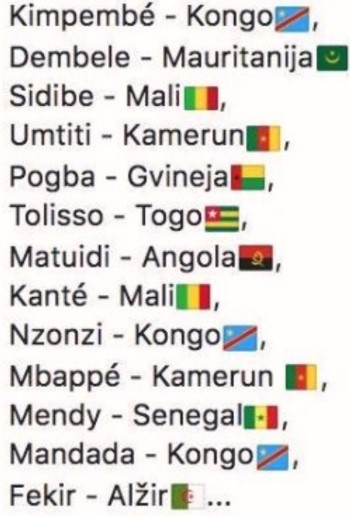 Francia calciatori stranieri