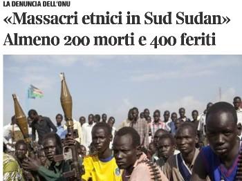 sudan genocidio