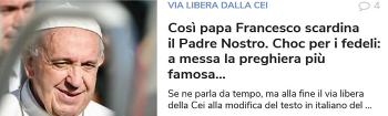 Papa Padre nostro