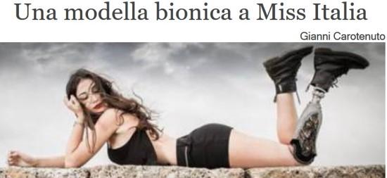Miss Italia bionica