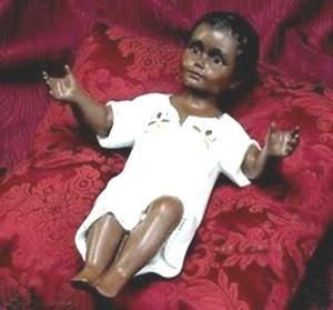 bambino gesù nero