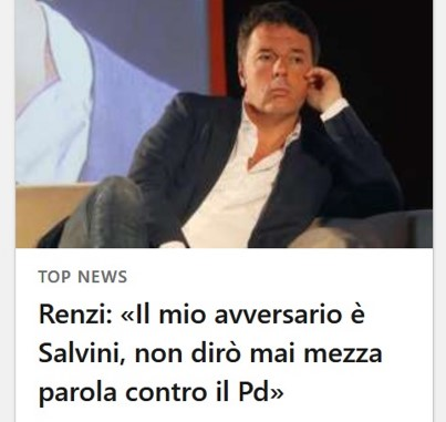 RENZI COERENZA